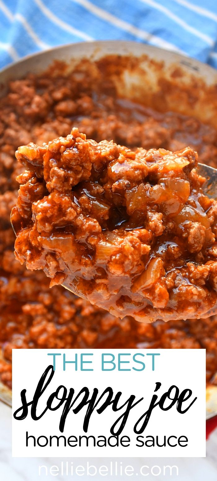 Homemade Sloppy Joe Sauce images
