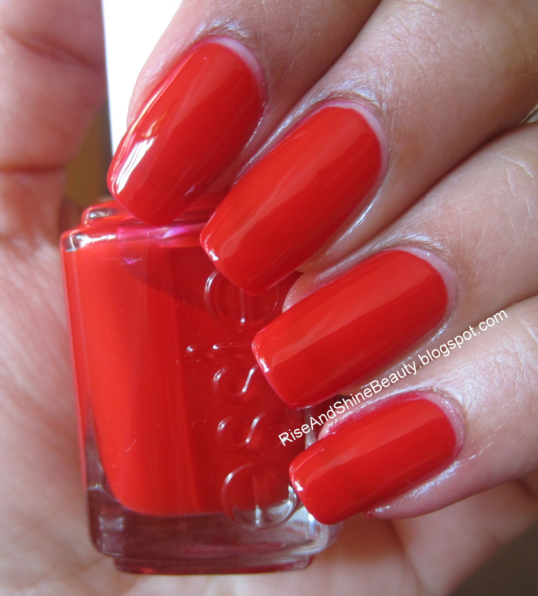 Essie Really Red | makeup, hair & nails ❤ | Pinterest | Pedicures ...