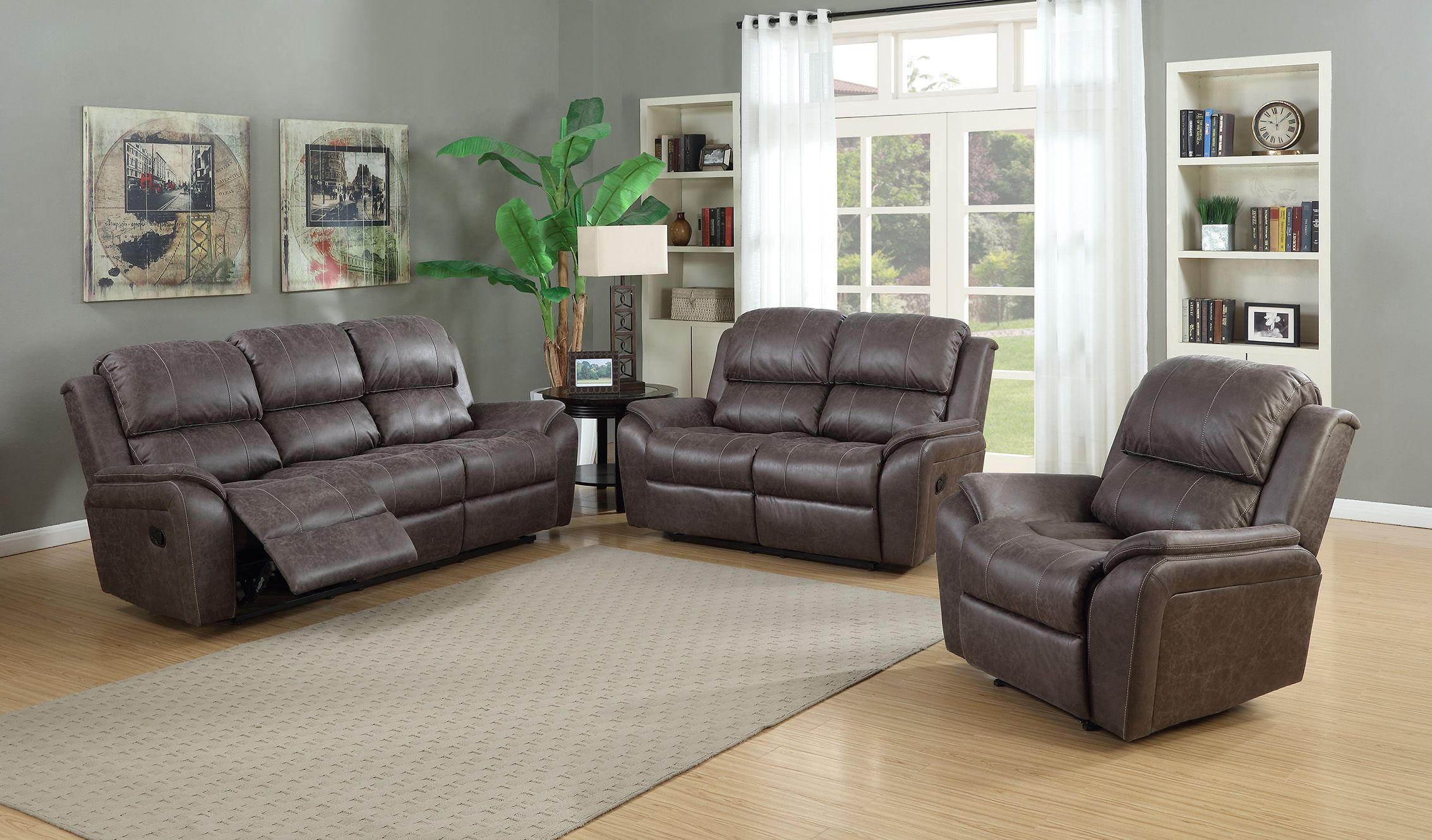 Nathan Reclining Living Room - Jasons Furniture Outlet  Recliner