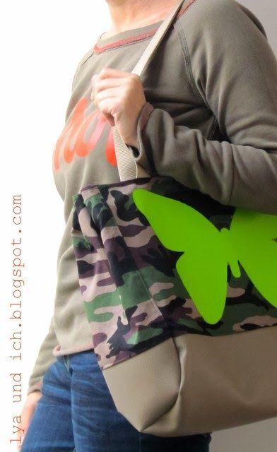 lillesol & pelle Schnittmuster/ pattern: Shoppingtasche Lillesol