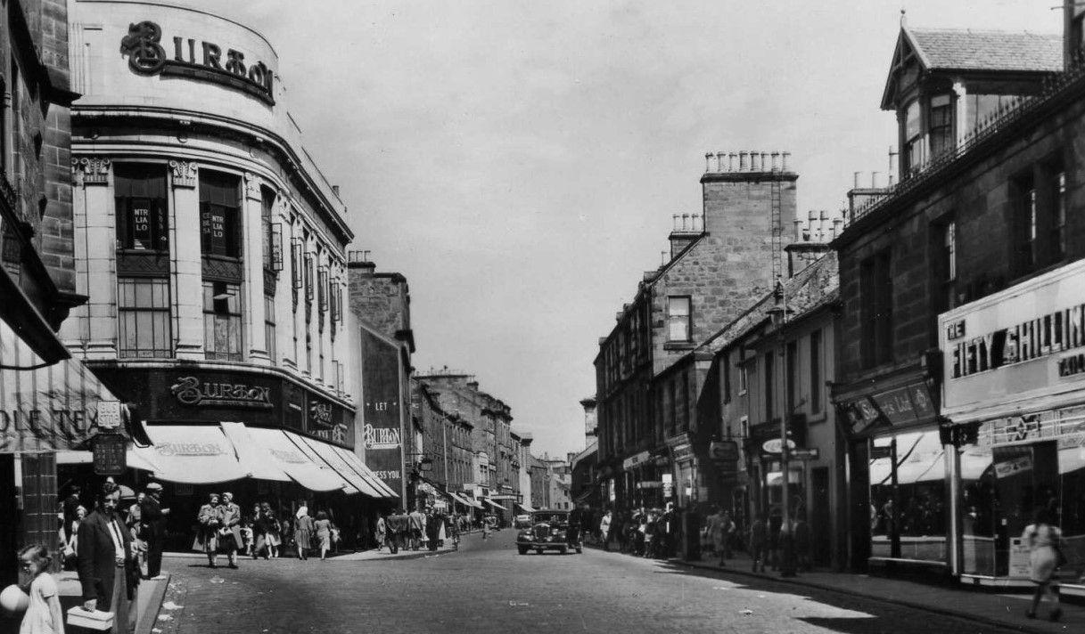 Old kirkcaldy high street | Scotland, Old photos, Glasgow