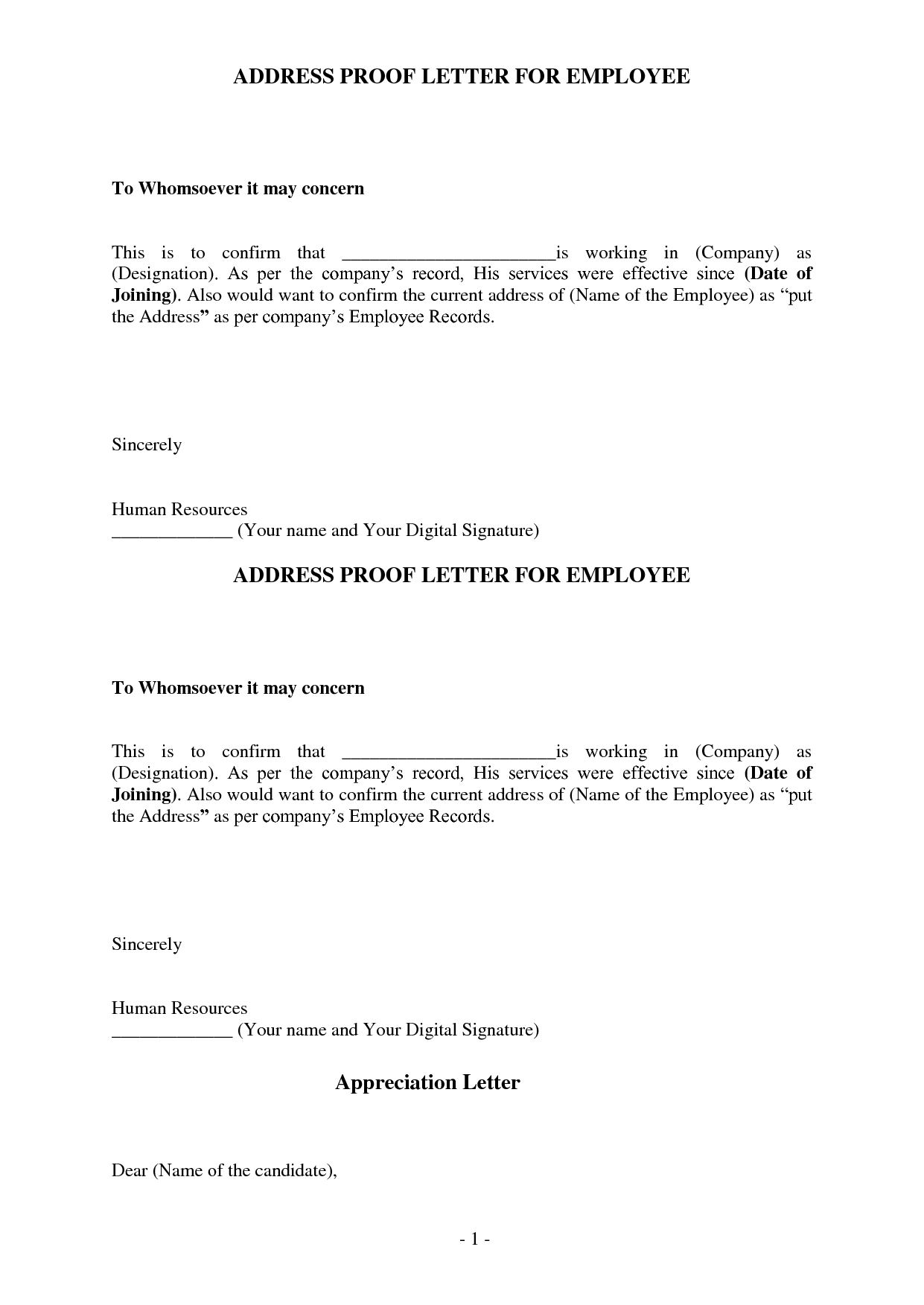 Proof Of Address Letter Template from i.pinimg.com