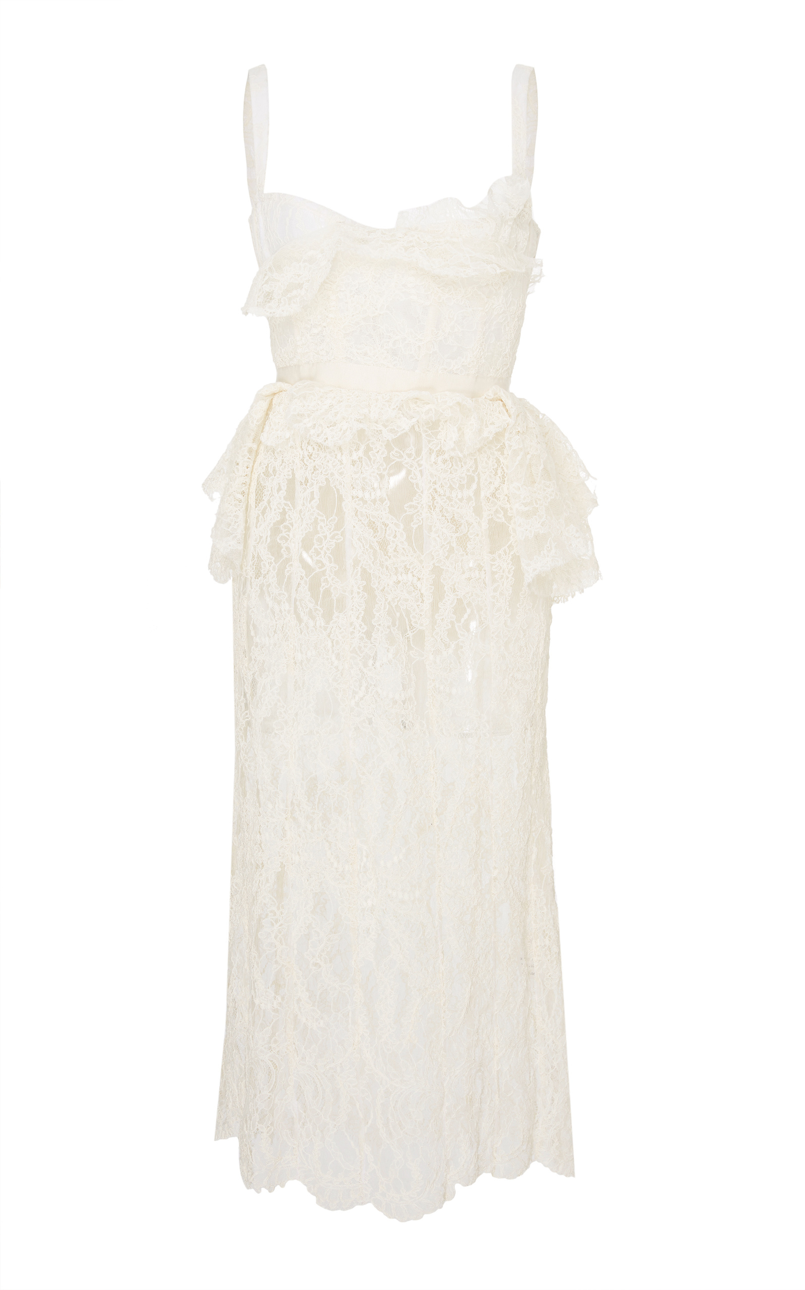 Brock Collection Dailey Floral Corded Lace Dress In White Modesens Corded Lace Dress Lace White Dress Lace Dress