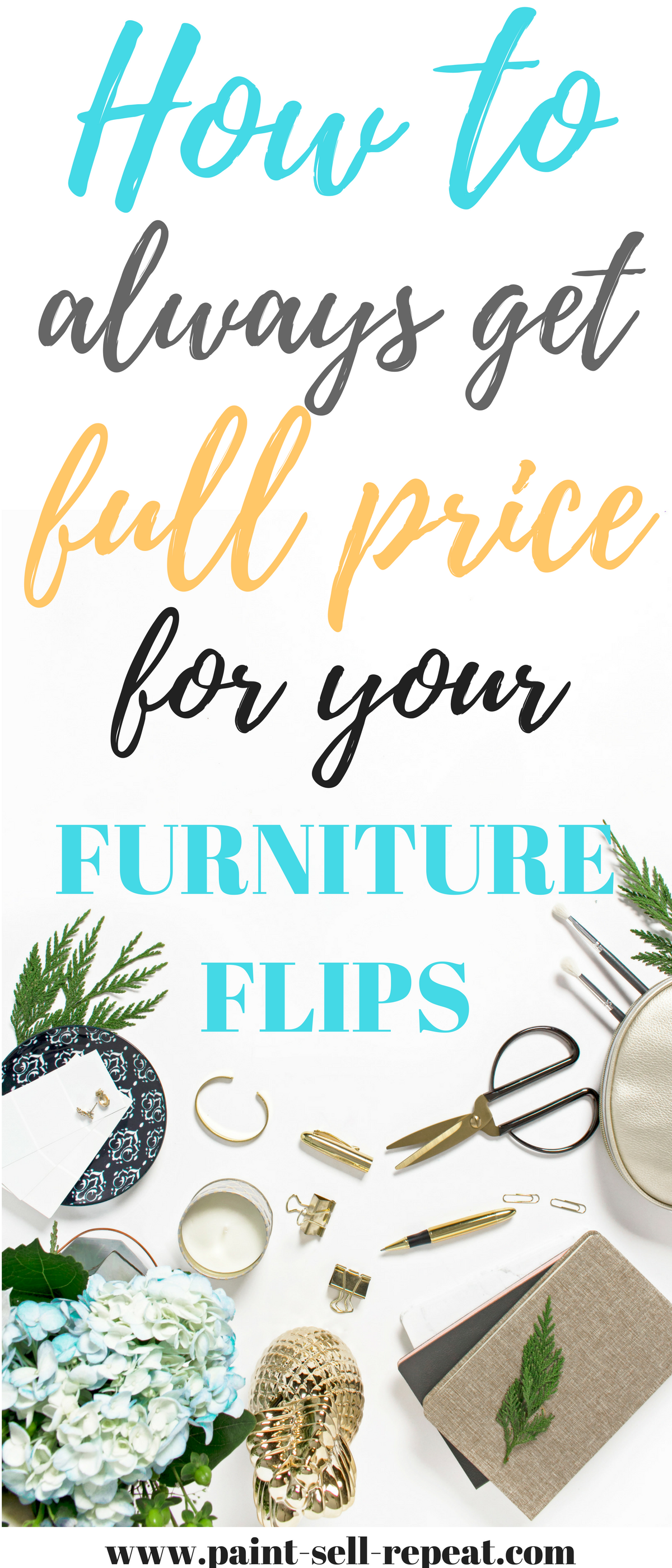How to always get full price for your furniture flips business
