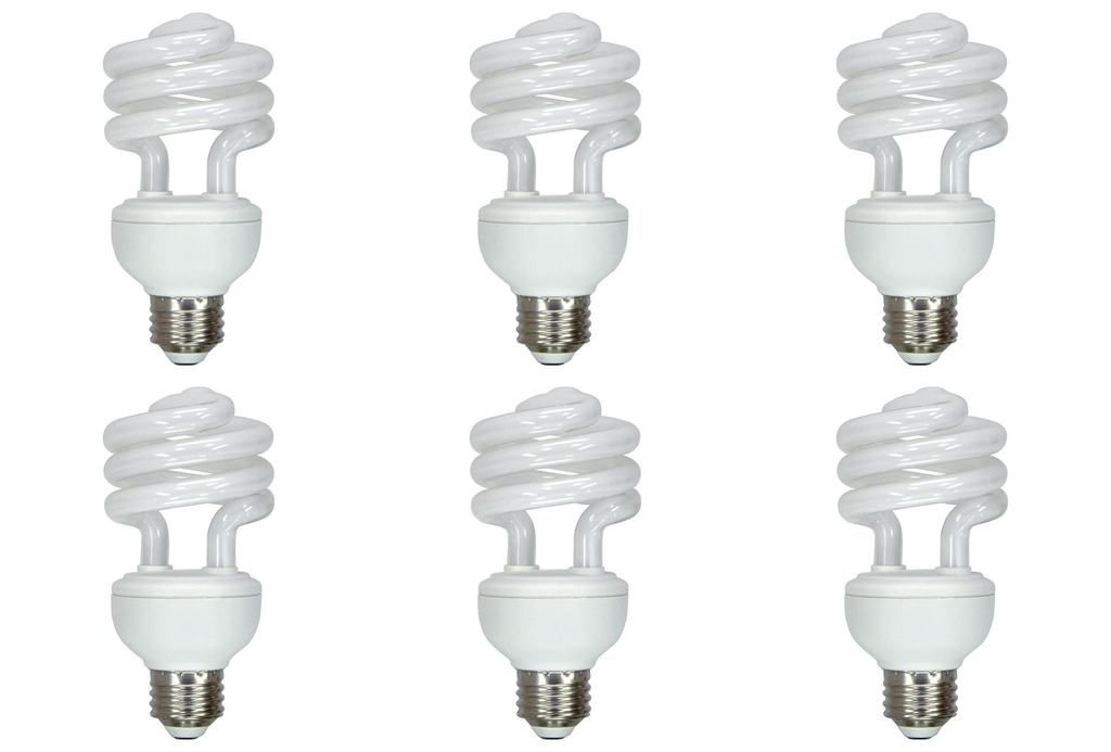 10 Watt Dc 12 Volt Cfl Medium Base Light Bulb Energy Saver Compact Fluorescent Lamp 6 Pack Lowvoltage Fluorescent Light Bulb Light Bulb Light Bulb Design