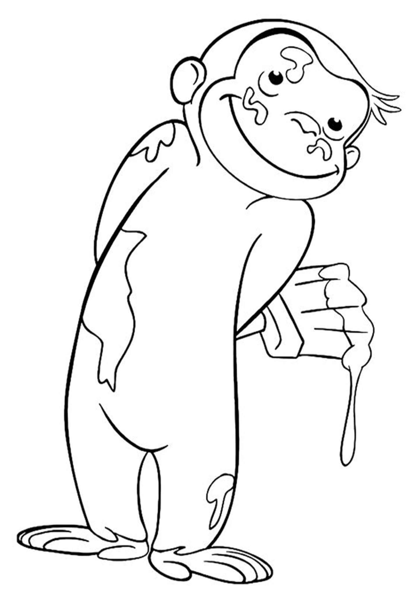 Free Easy To Print Curious George Coloring Pages In 2021 Curious George Coloring Pages Cartoon Coloring Pages Coloring Books