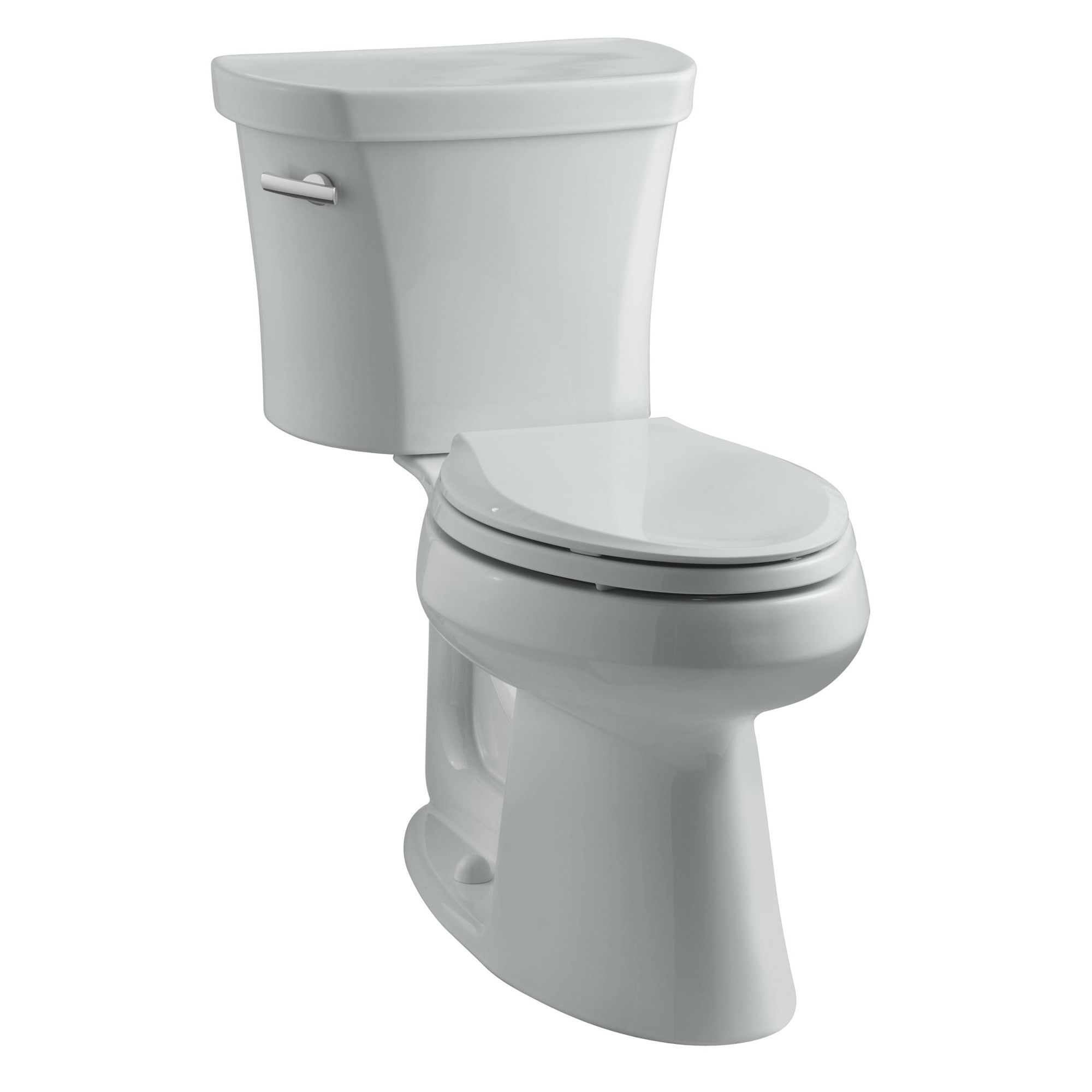 Highline Comfort Height Two-Piece Elongated 1.28 GPF Toilet with Class Five Flush Technology, Left-Hand Trip Lever and Insuliner Tank Liner