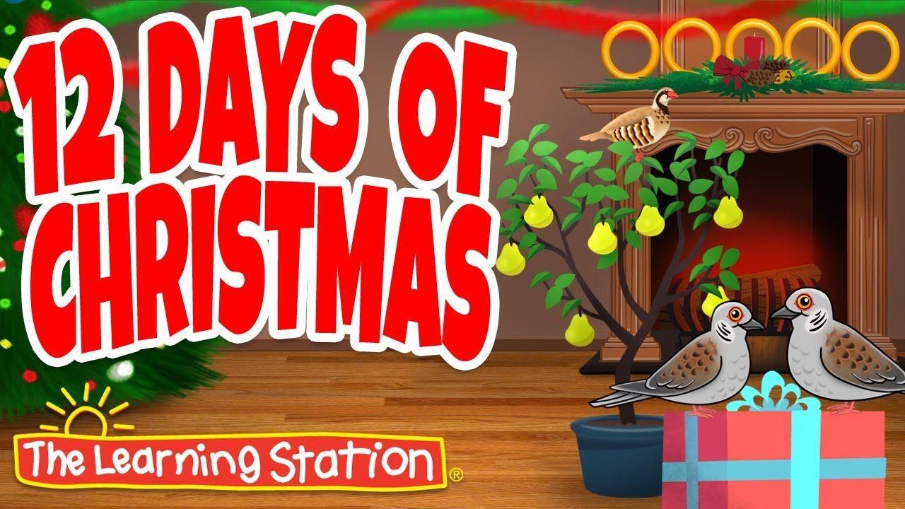 Christmas Songs for Children - 12 Days of Christmas - Christmas Dance So... | Popular christmas ...