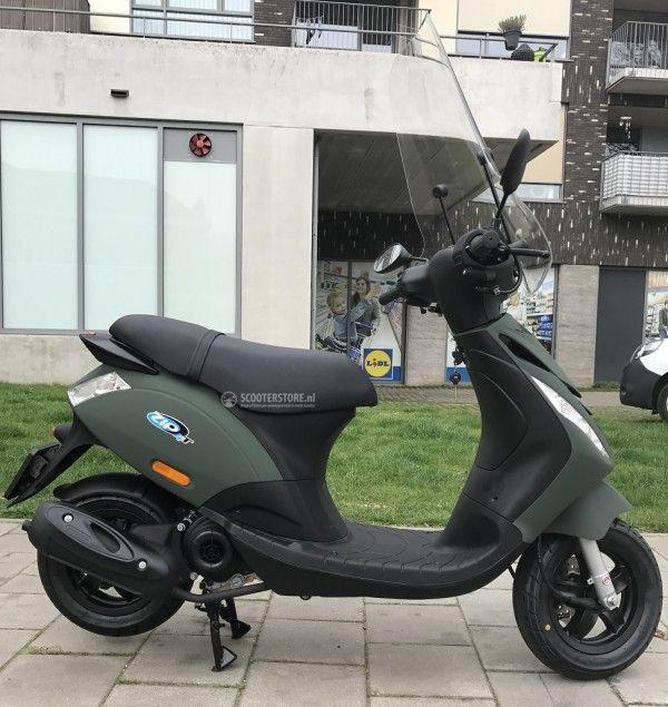 piaggio zip sp special mat groen nu te koop bij a merk scooters kopen of. Black Bedroom Furniture Sets. Home Design Ideas