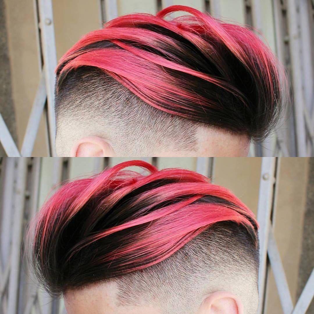 Boy Hair Pink Haarfarben Haare Grau Farben Rosa Haare