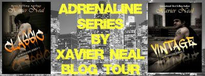 Sarit Yahalomi: Adrenaline Series by Xavier Neal Blog Tour