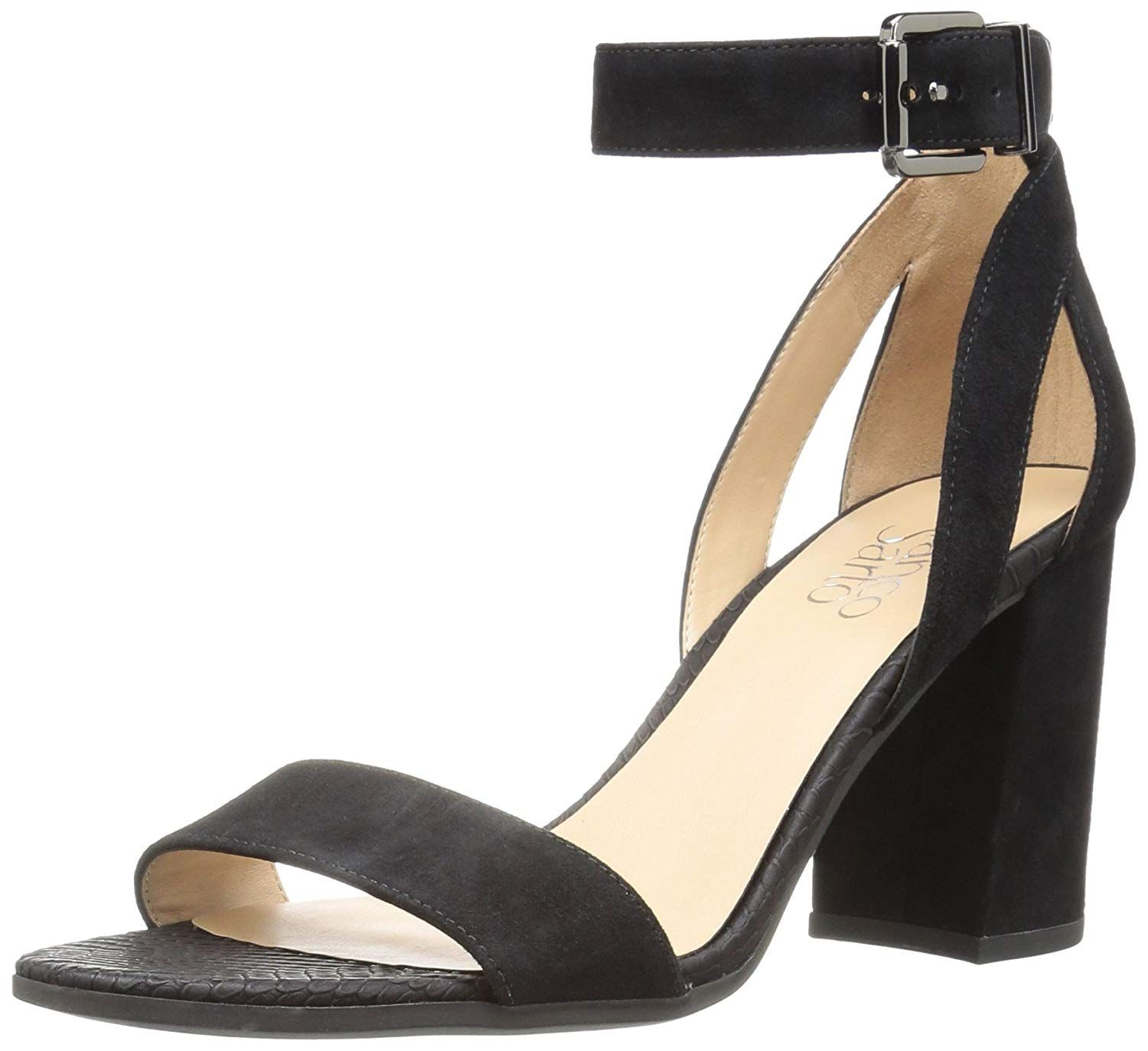 e23fc1f21eea Franco Sarto Women s Malibu Heeled Sandal. A dress pump%2Fsandal perfectly  suited for spring- with open side cutouts and flare heel. Women s Shoes