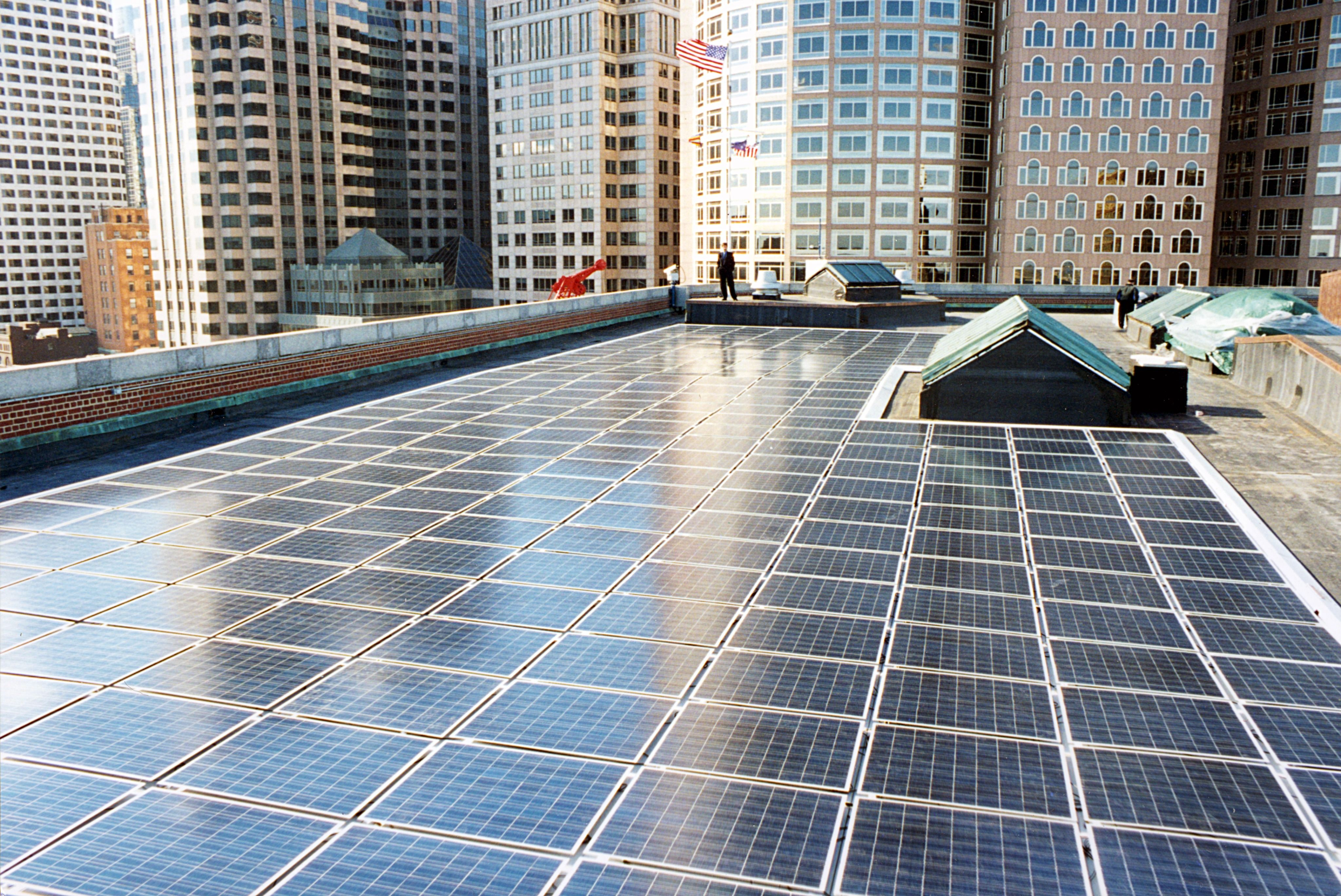 Ripe And Riddled Is Commercial Really The Next Big Emerging Growing Sector In Solar Solar Downtown Boston Renewable Energy
