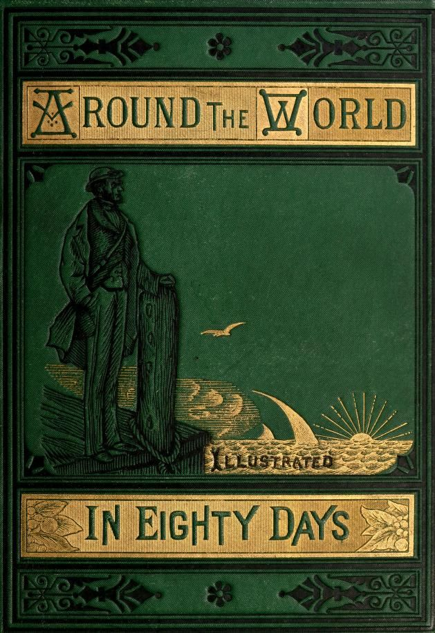 Around The World In Eighty Days Book Cover Around The World In