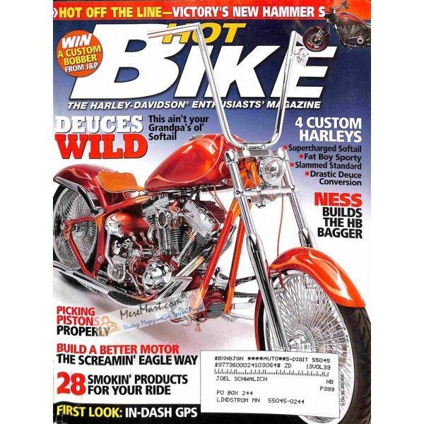 Cover Print Of Hot Bike 2007 Hot Bikes Bike Magazine Cover