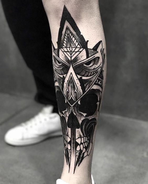 60 Especiales Tatuajes En La Pierna Y En El Muslo Tinta