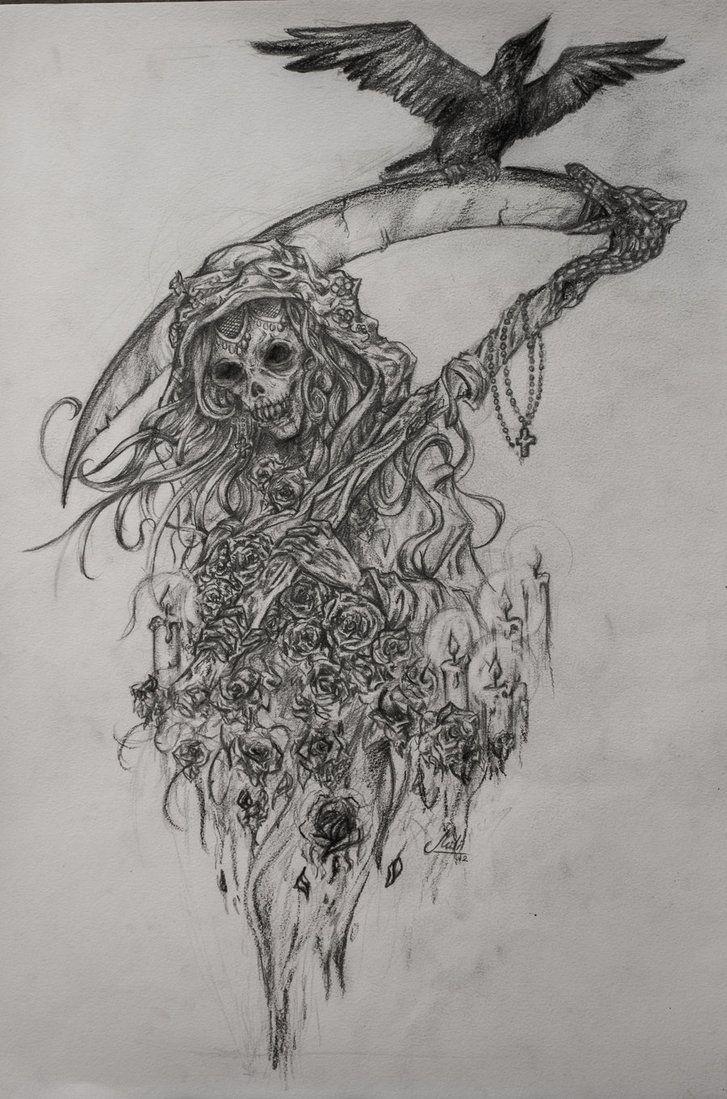 santa muerte by hisakichan