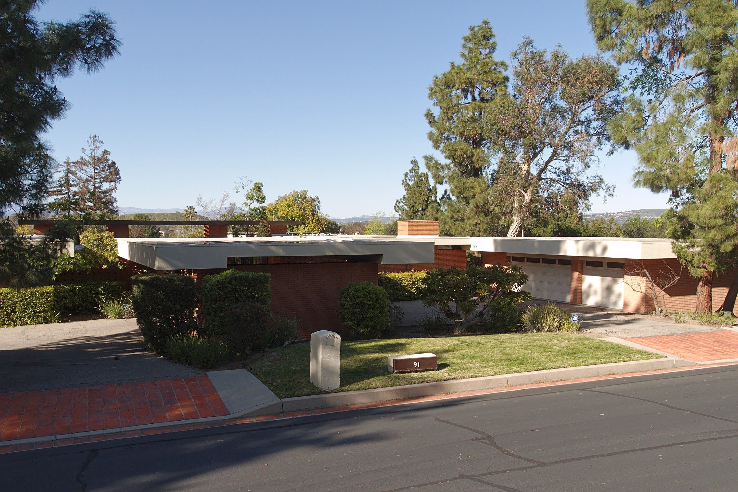 Modern homes los angeles brentwood untouched 1960 mid century modern - House