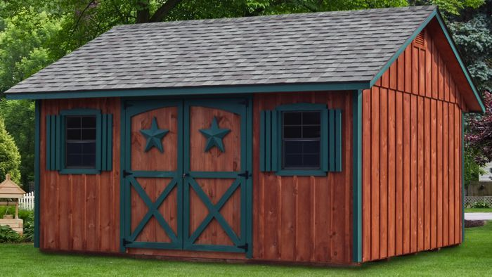 12x16 Gable Style Board Batten Shed Capitol Sheds Shed Garden Storage Shed Backyard Buildings
