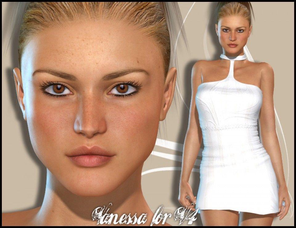 Poser Elite Texture Lana V4 - mintpriority