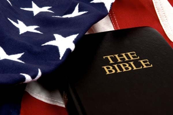 Image result for bible and flag