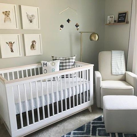 Simple And Chic Styling Win EVERY TIME In The Nursery! Photo: @tram.alvarado
