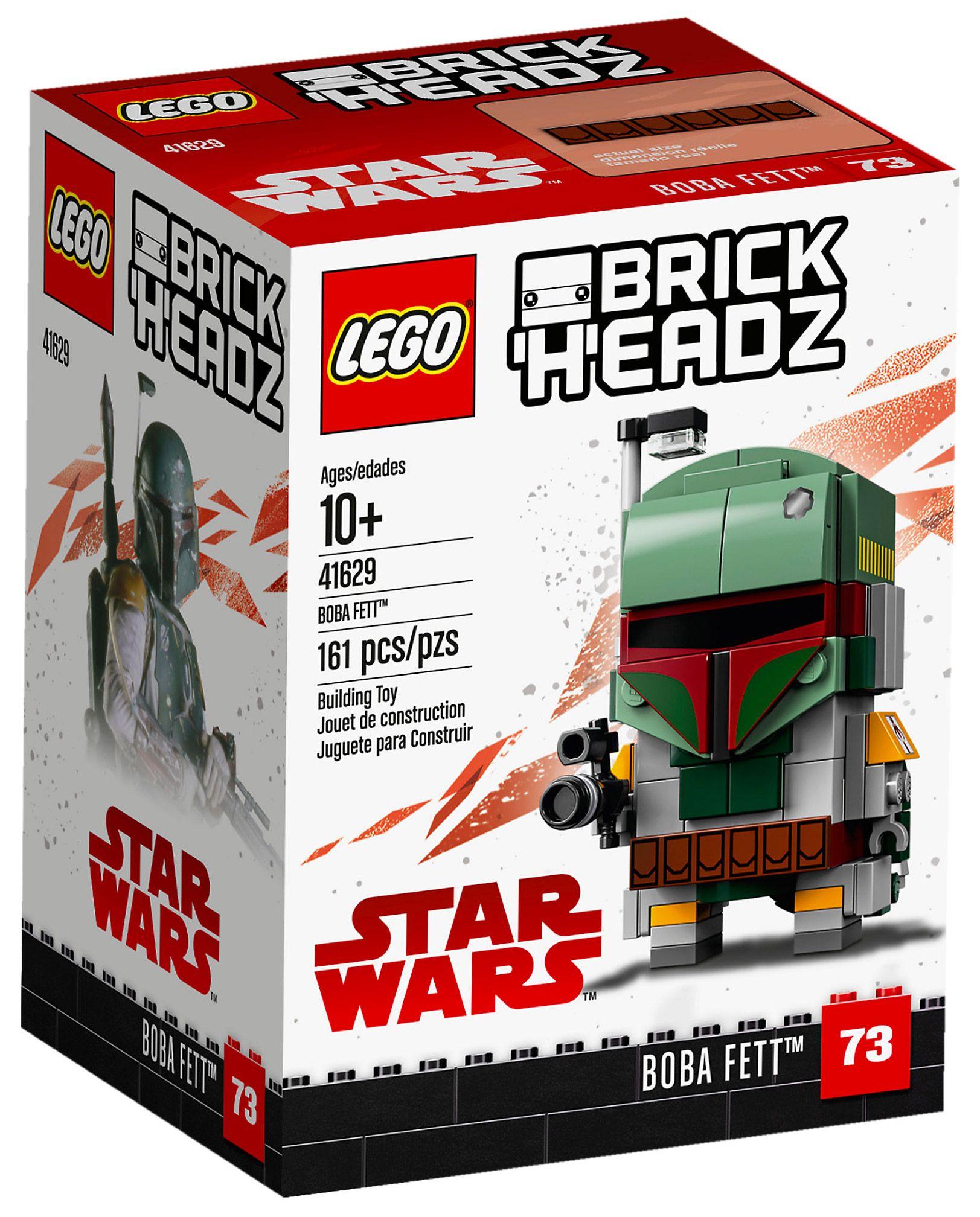 LEGO BRICKHEADZ STAR WARS 41486 Captain Phasma NISB New /& Sealed
