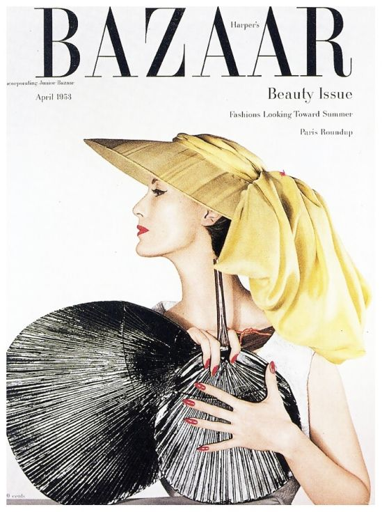 Mary Jane Russell, photo by Louise Dahl-Wolfe, Harper's Bazaar, April 1953