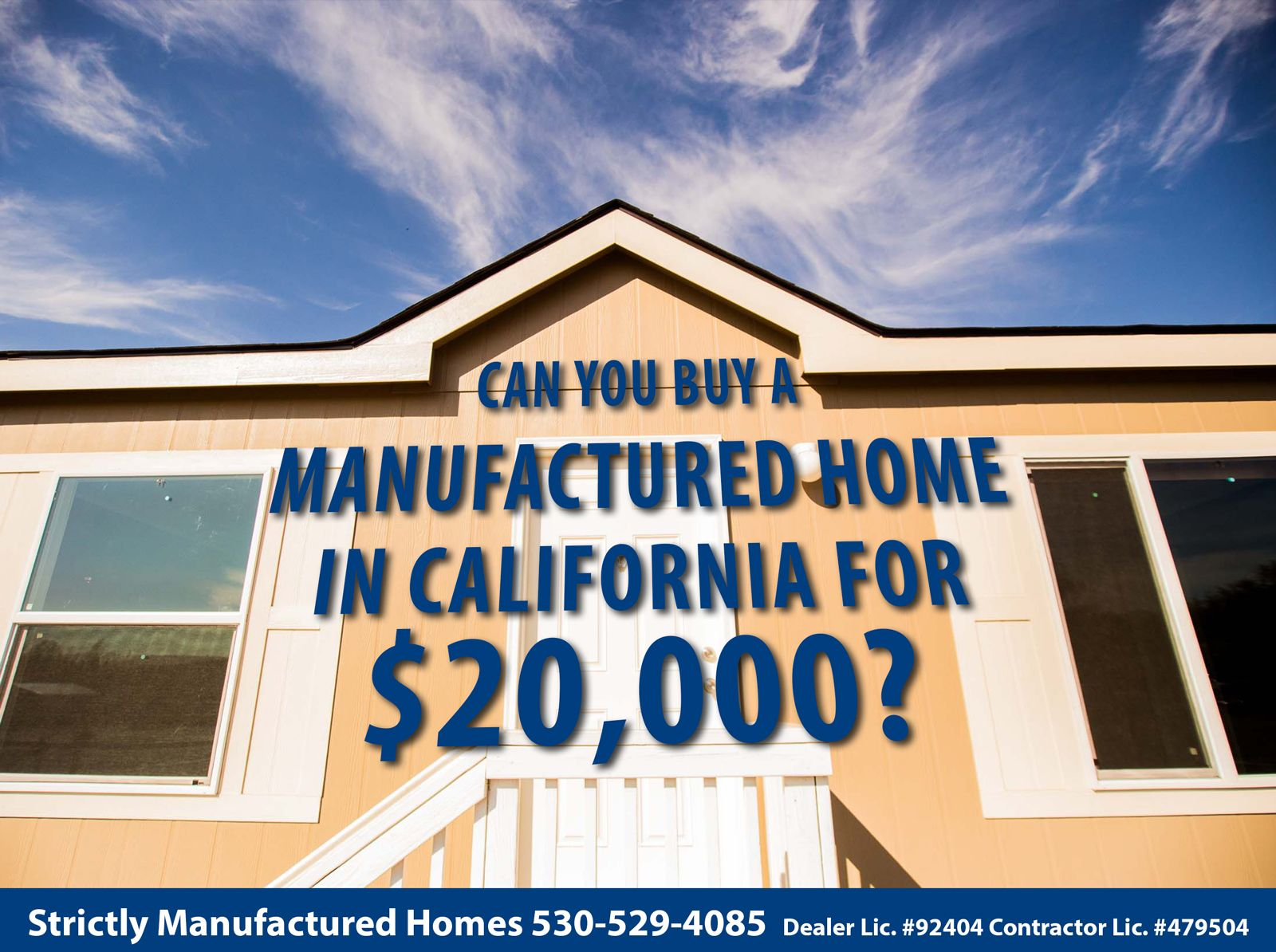 Buying A Manufactured Home In California
