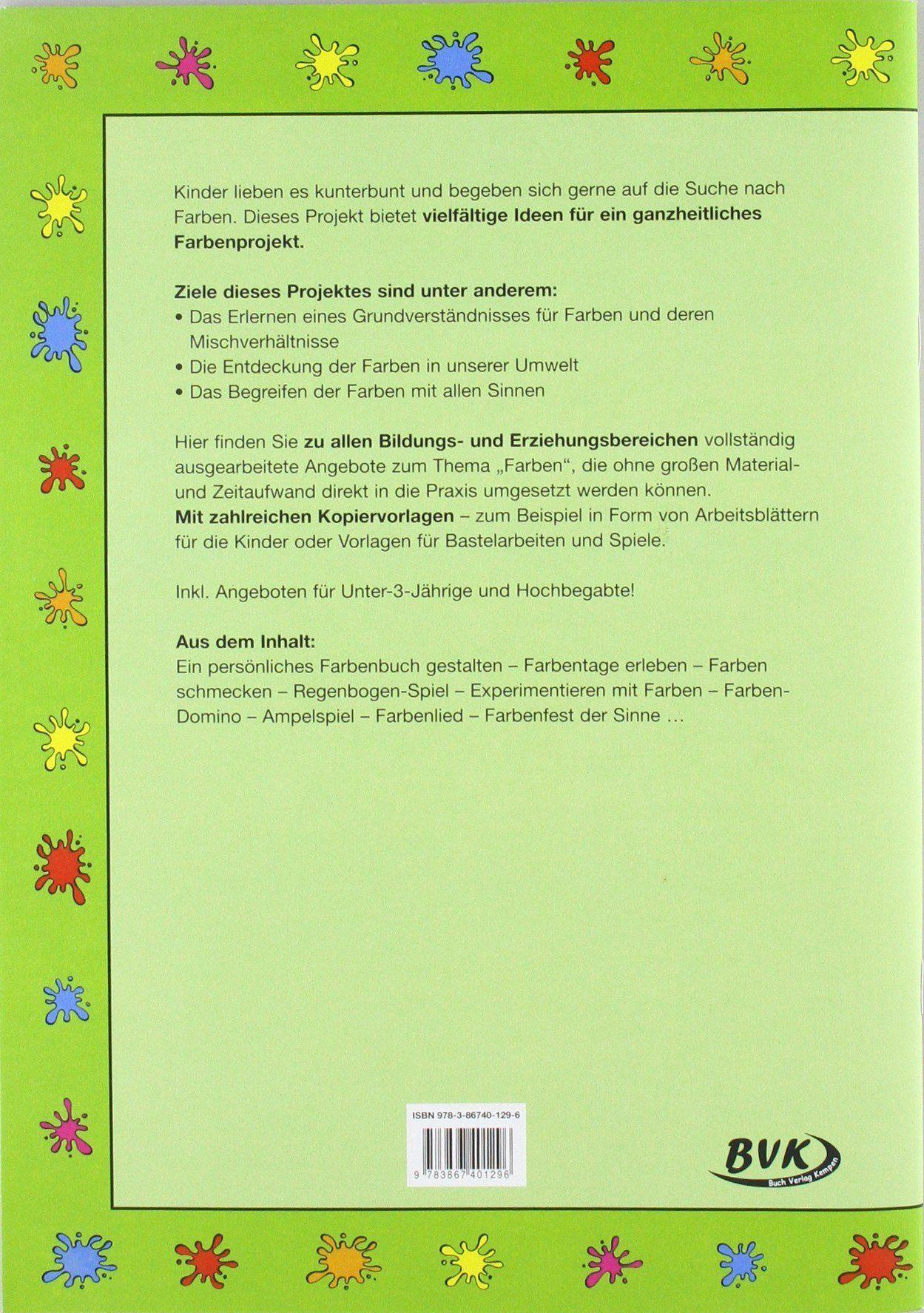Bildergebnis Fur Kindergarten Jahresthema Farben Kindergarten