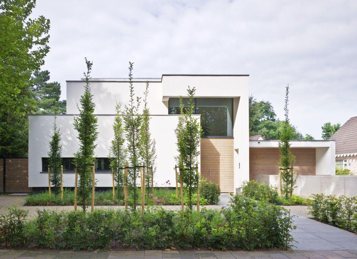 Van dinther bouwbedrijf strak modern huis hoog □ exclusieve