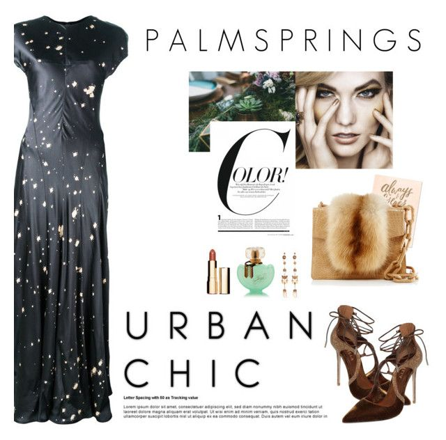 How To Style A Black Splatter Print Dress With A Nude Lip For A