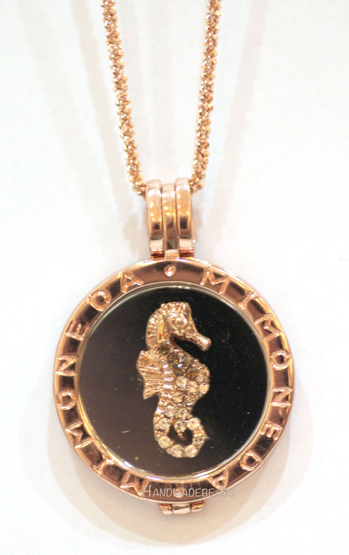 Caballito Sea Horse MI MONEDA Rose Gold combination www