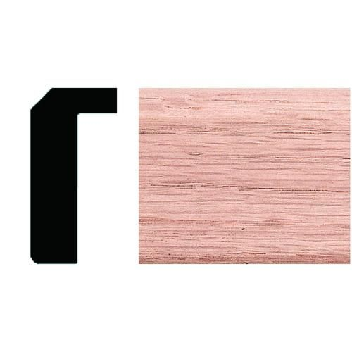 Mastercraft 3 4 X 1 11 16 Oak Counter Top Trim At Menards Mastercraft Reg 3 4 X 1 11 16 X 4 Oak Counter Top Red Oak Hardwood Molding And Millwork Oak
