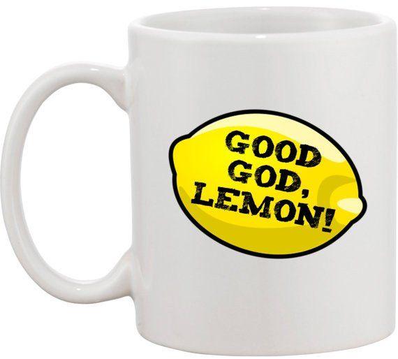 Good God Lemon Mug Canecas