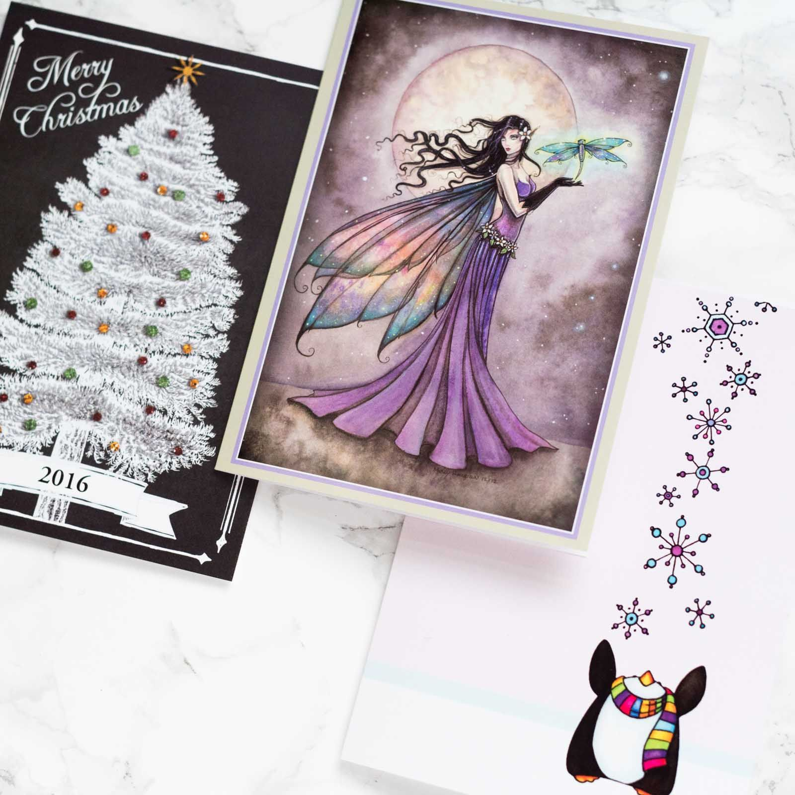 holiday hacks personalized madetoorder cards from