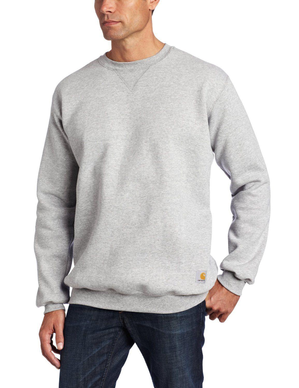 Grey Sweatshirt Here Carhartt Men S Midweight Crewneck Sweatshirt Timeless Rawfashion Basic Basicfashion Carhartt Mens Carhartt Sweatshirts Sweatshirts [ 1500 x 1154 Pixel ]