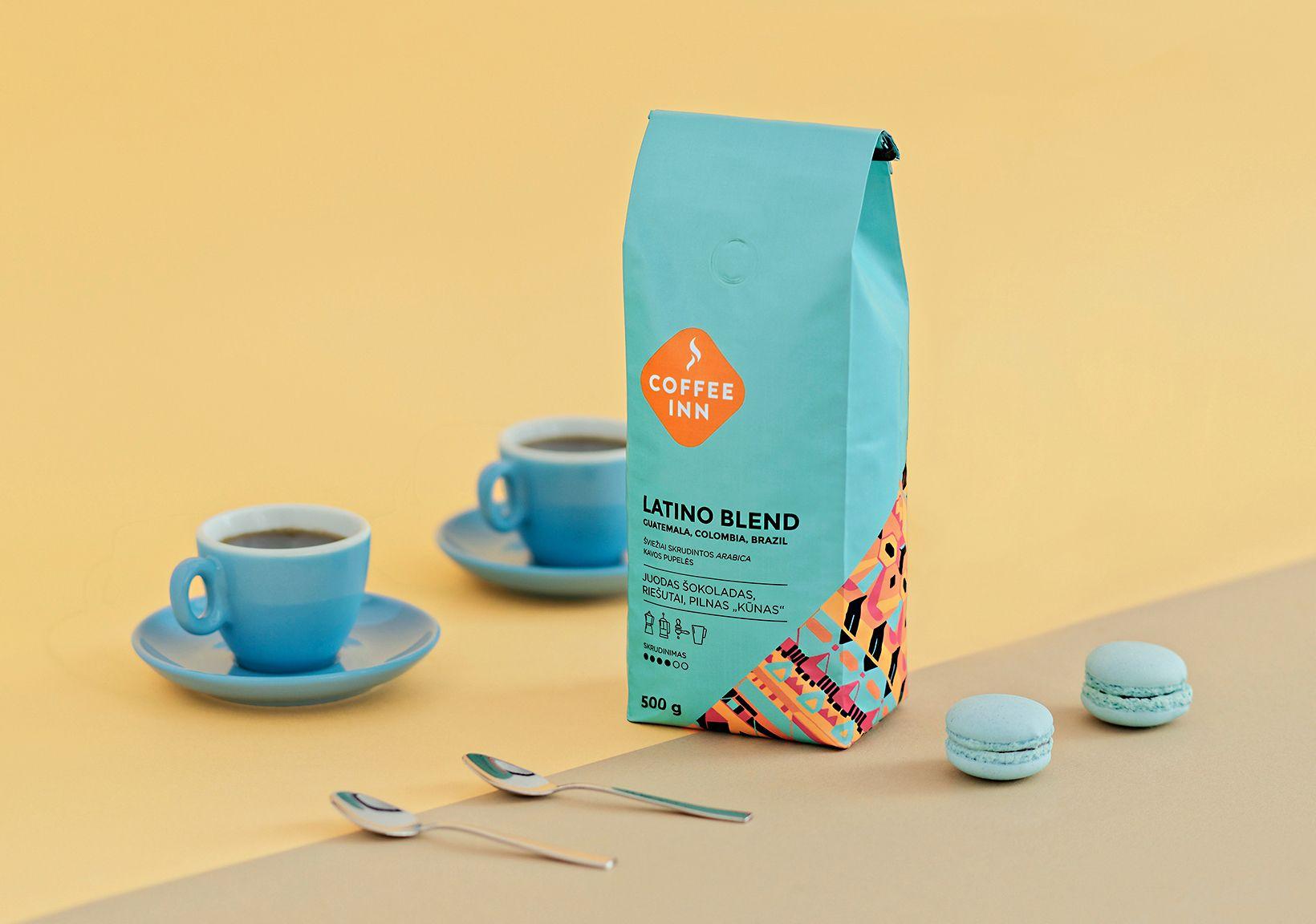 """다음 @Behance 프로젝트 확인: """"COFFEE INN coffee"""" https://www.behance.net/gallery/40926405/COFFEE-INN-coffee"""