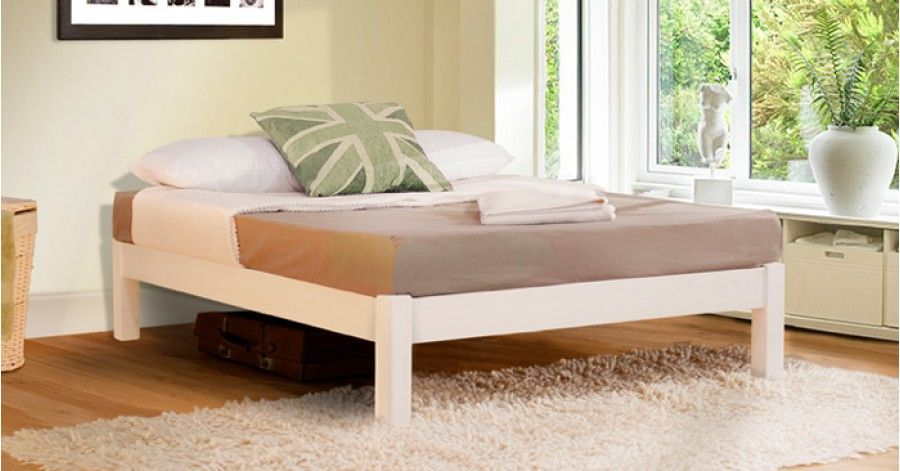 Best Platform Bed Space Saving Bed Without Headboard Space 400 x 300