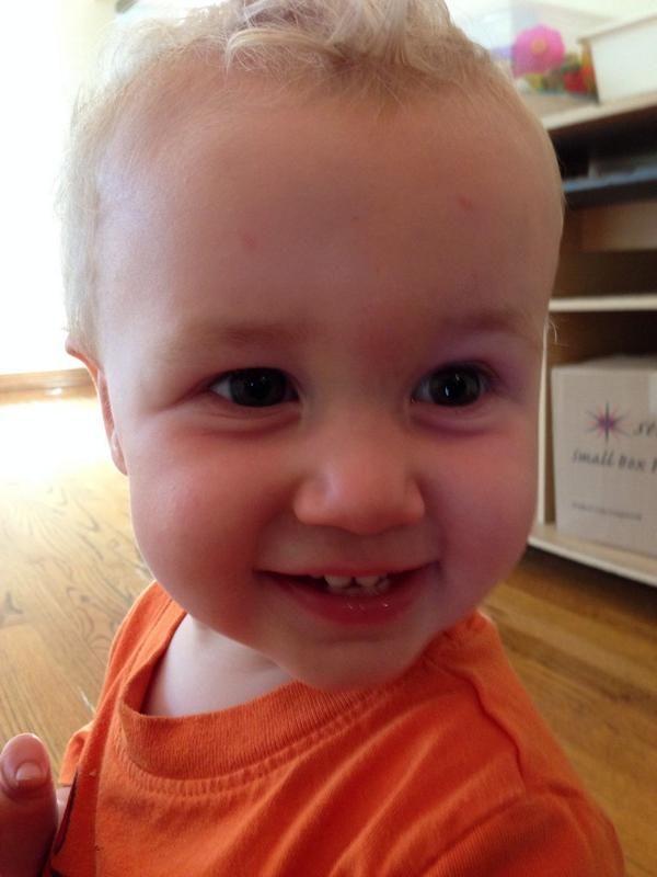 Jacob Ballinger As A Baby