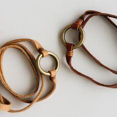 Photo of Dark Brown Lola Leather Bracelet