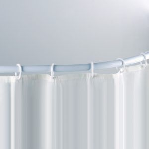 Shower Curtain Rod With Suction Cups