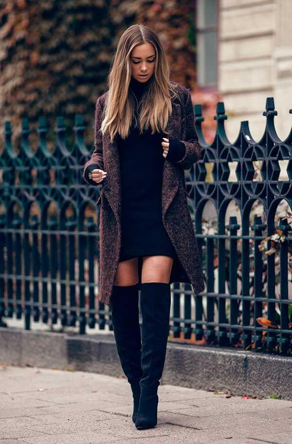 6316ee700 Como ser sexy em dias frios em 8 passos | Inspiração fashion: botas ...