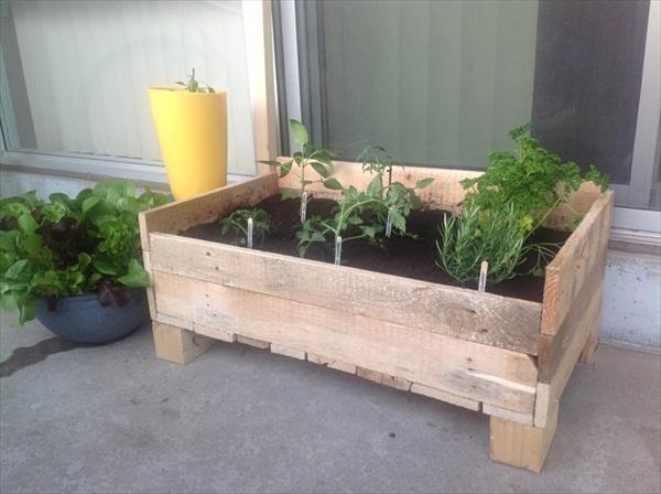 15 Diy Pallet Planter Box Ideas Pallet Idea Pallet 400 x 300