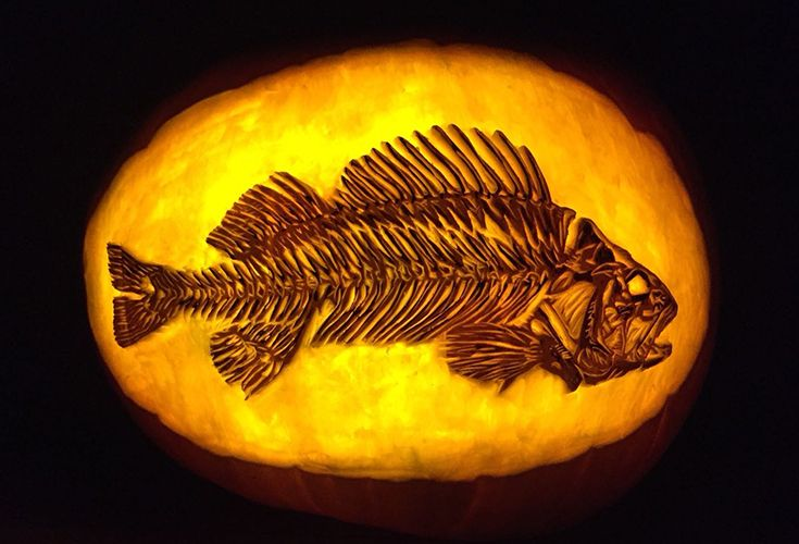 We've rounded up the 9 most jaw-dropping pumpkin carvings on Instagram for Halloween. Ditch the traditional jack-o'-lantern and try one of these designs.
