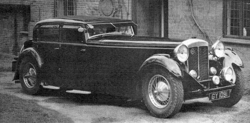1932 daimler double six Gurney Nutting