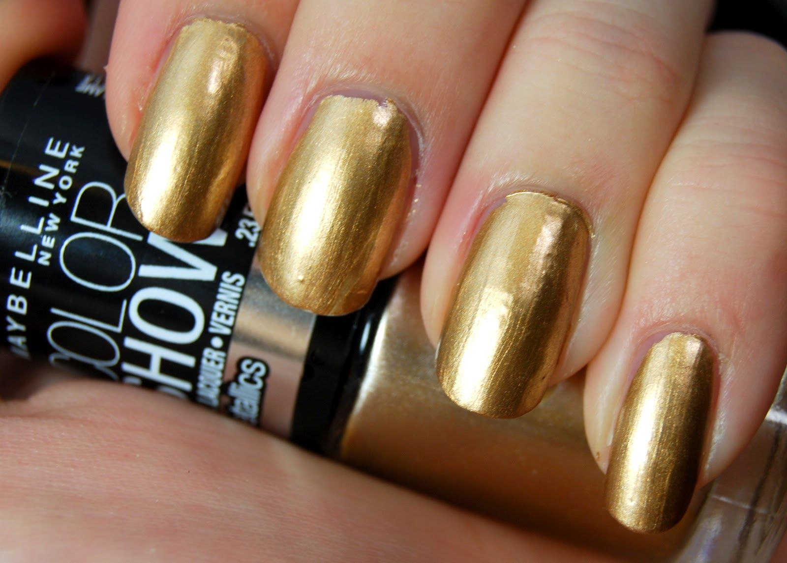 Maybelline Color Show Bold Gold. BEST GOLD METALLIC NAIL POLISH ...
