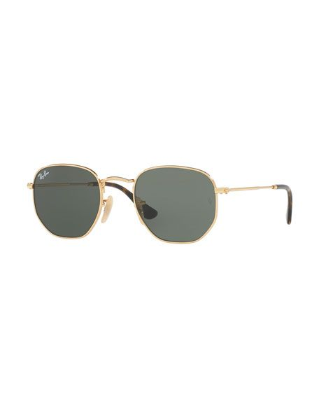9c73236fadd1c RAY BAN SQUARE METAL KEYHOLE SUNGLASSES