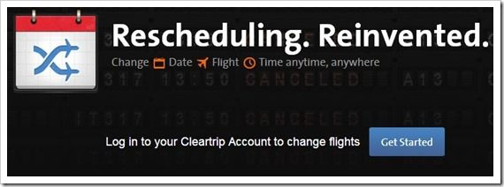 Cleartrip has introduced a much needed feature on their