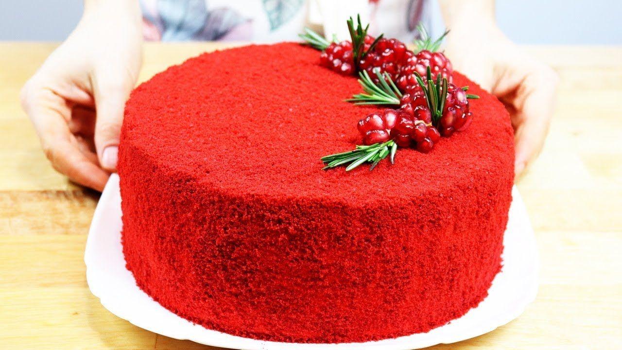 """Торт """"КРАСНЫЙ БАРХАТ"""" мой любимый рецепт! Red velvet cake ..."""